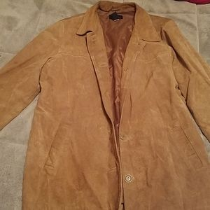 Moda international suede jacket
